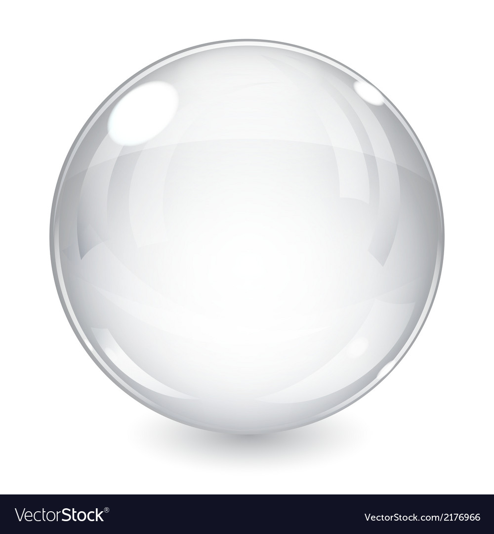 White sphere vector | Price: 1 Credit (USD $1)