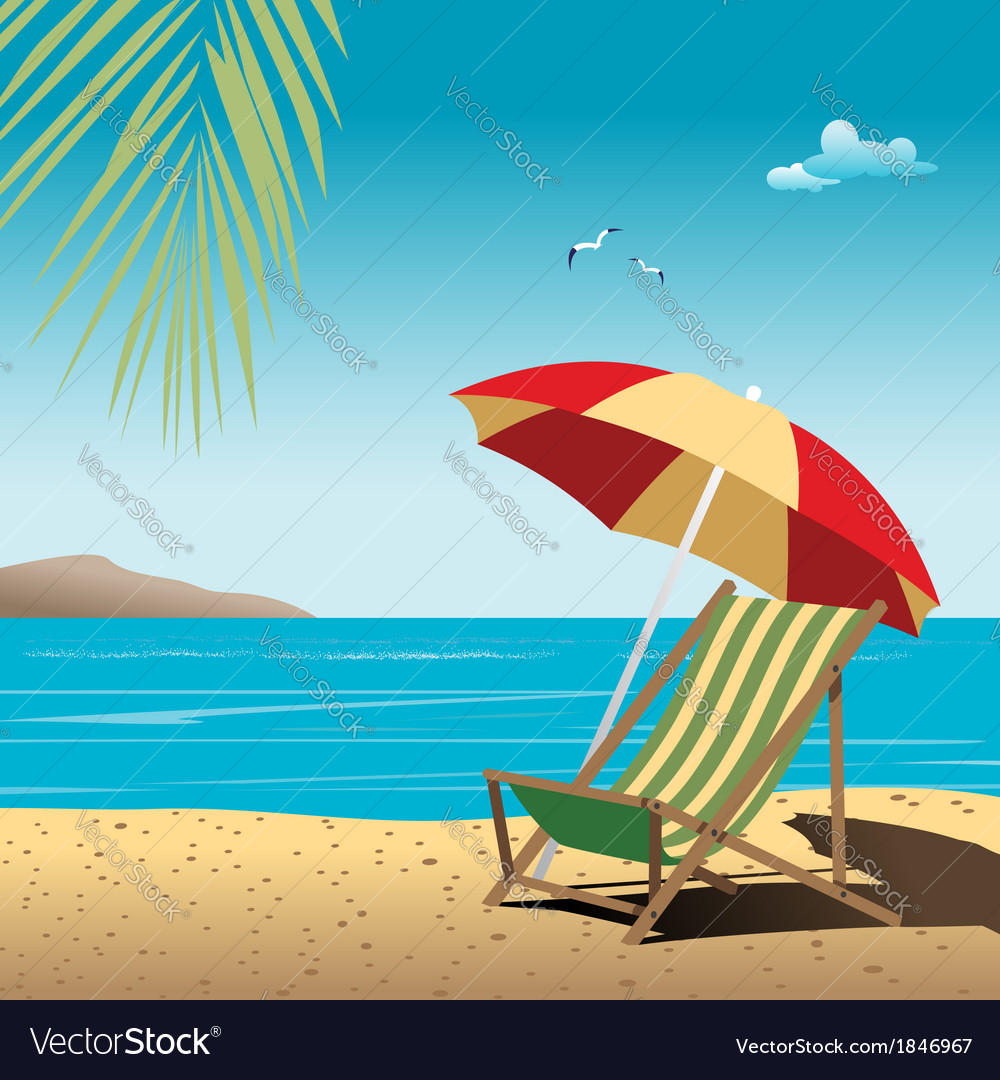 Beach vector | Price: 3 Credit (USD $3)