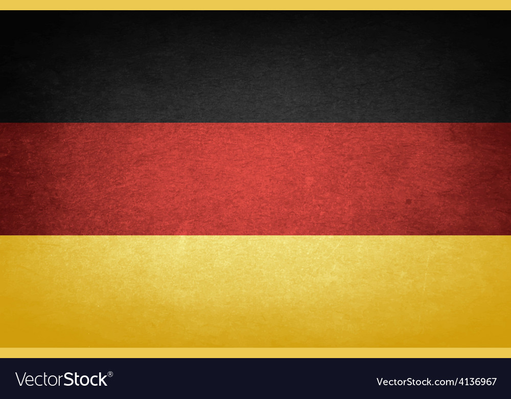 Grunge flag of germany vector | Price: 1 Credit (USD $1)