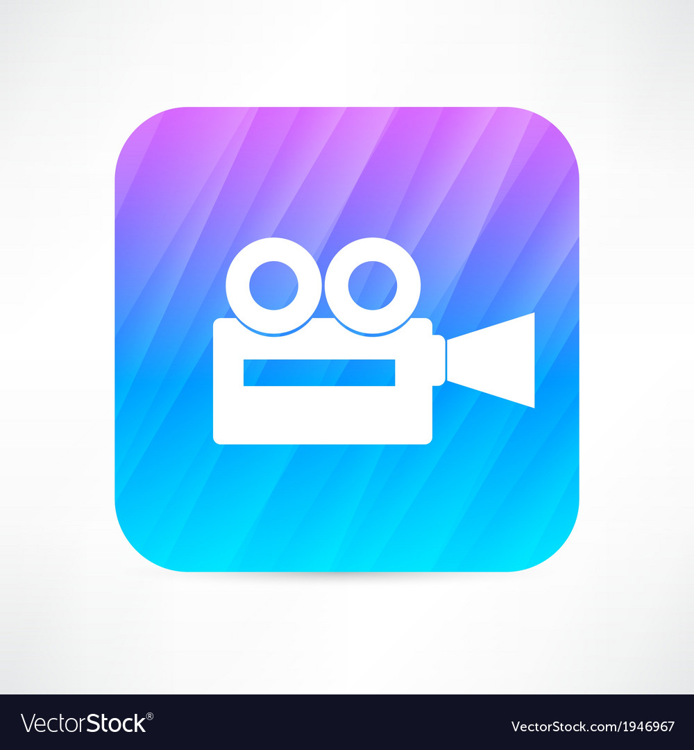 Old video camera vector | Price: 1 Credit (USD $1)