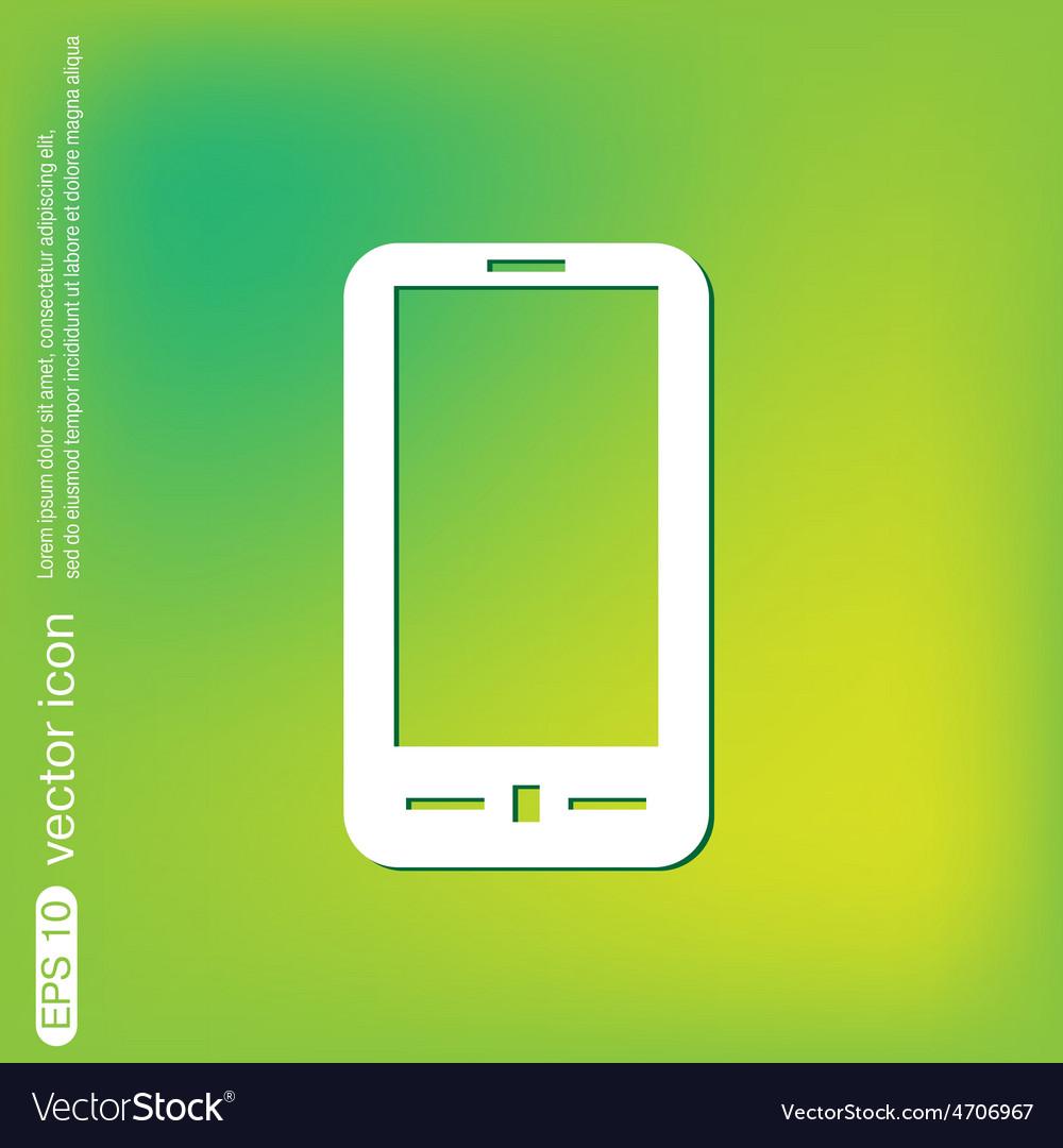 Smartphone vector   Price: 1 Credit (USD $1)