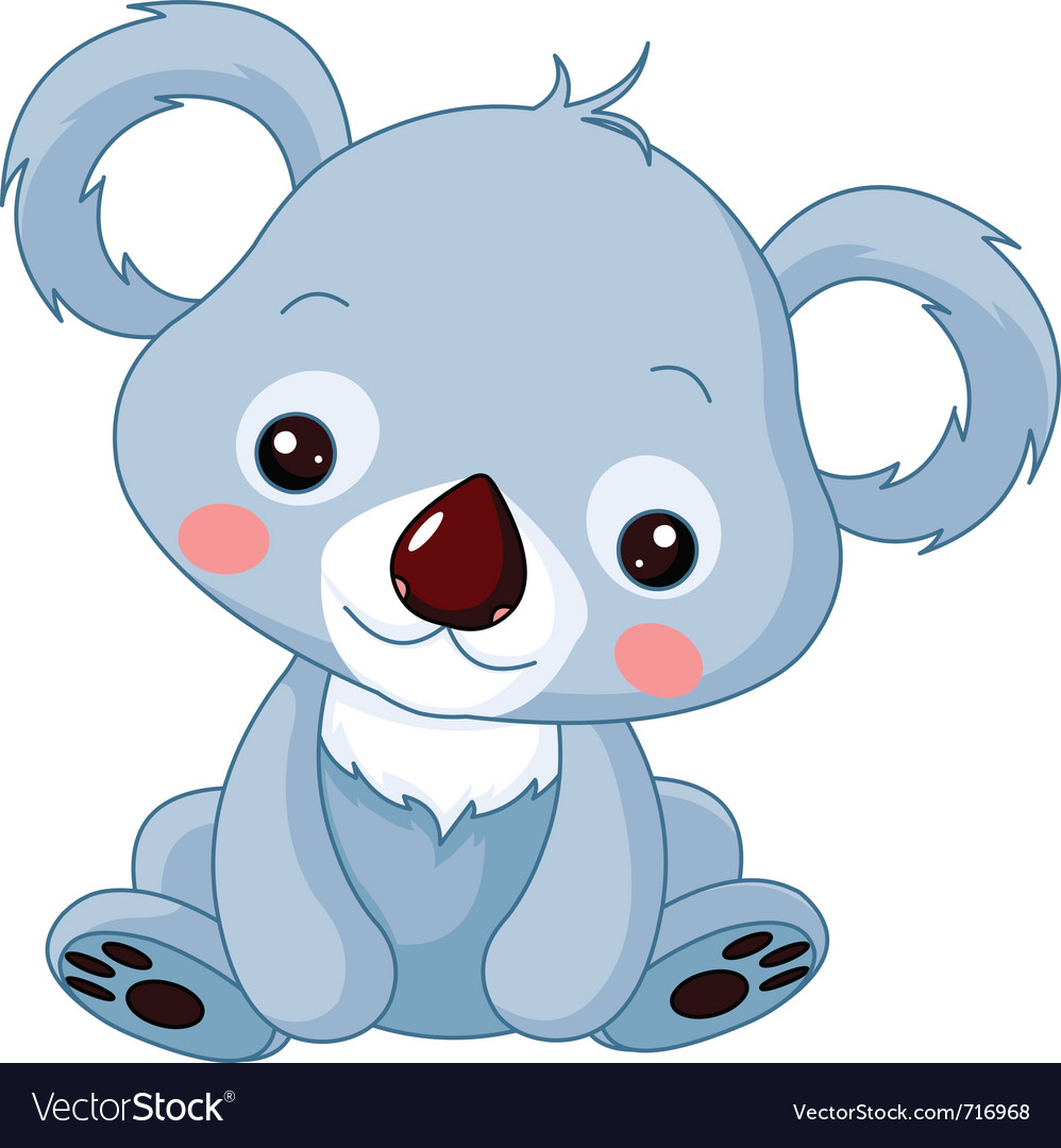 Cartoon koala bear vector | Price: 1 Credit (USD $1)