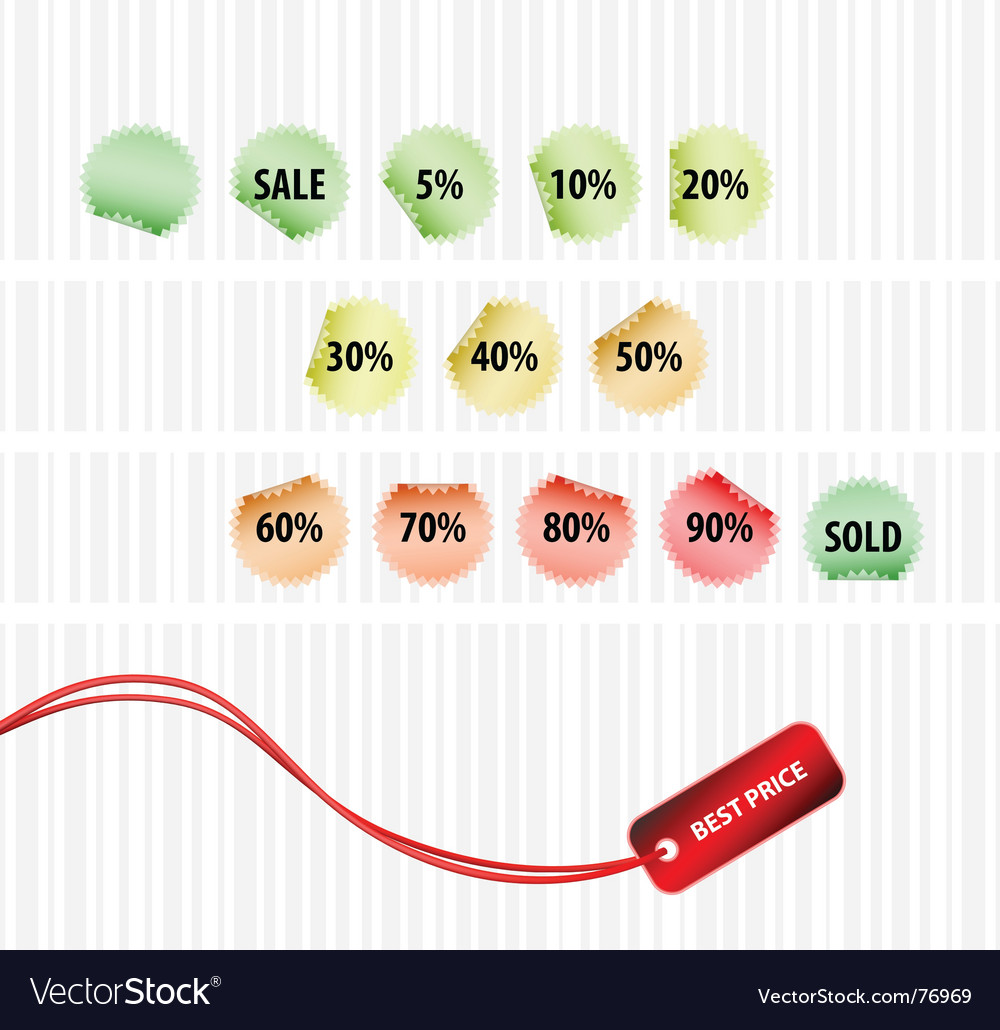 Concept of successful sales vector | Price: 1 Credit (USD $1)