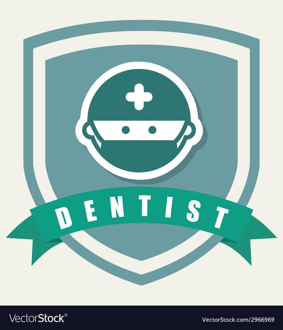 Dentist design vector | Price: 1 Credit (USD $1)