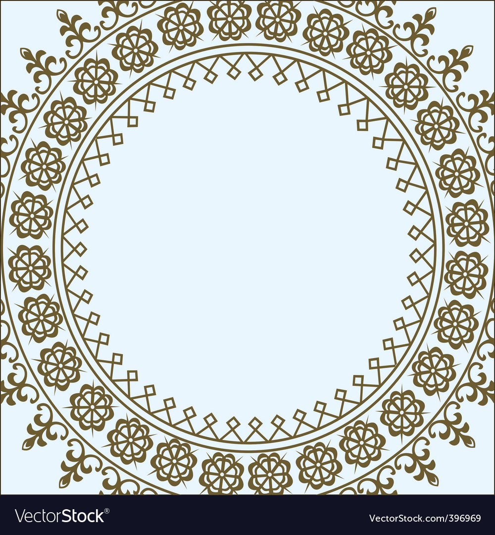 Geometric border vector | Price: 1 Credit (USD $1)