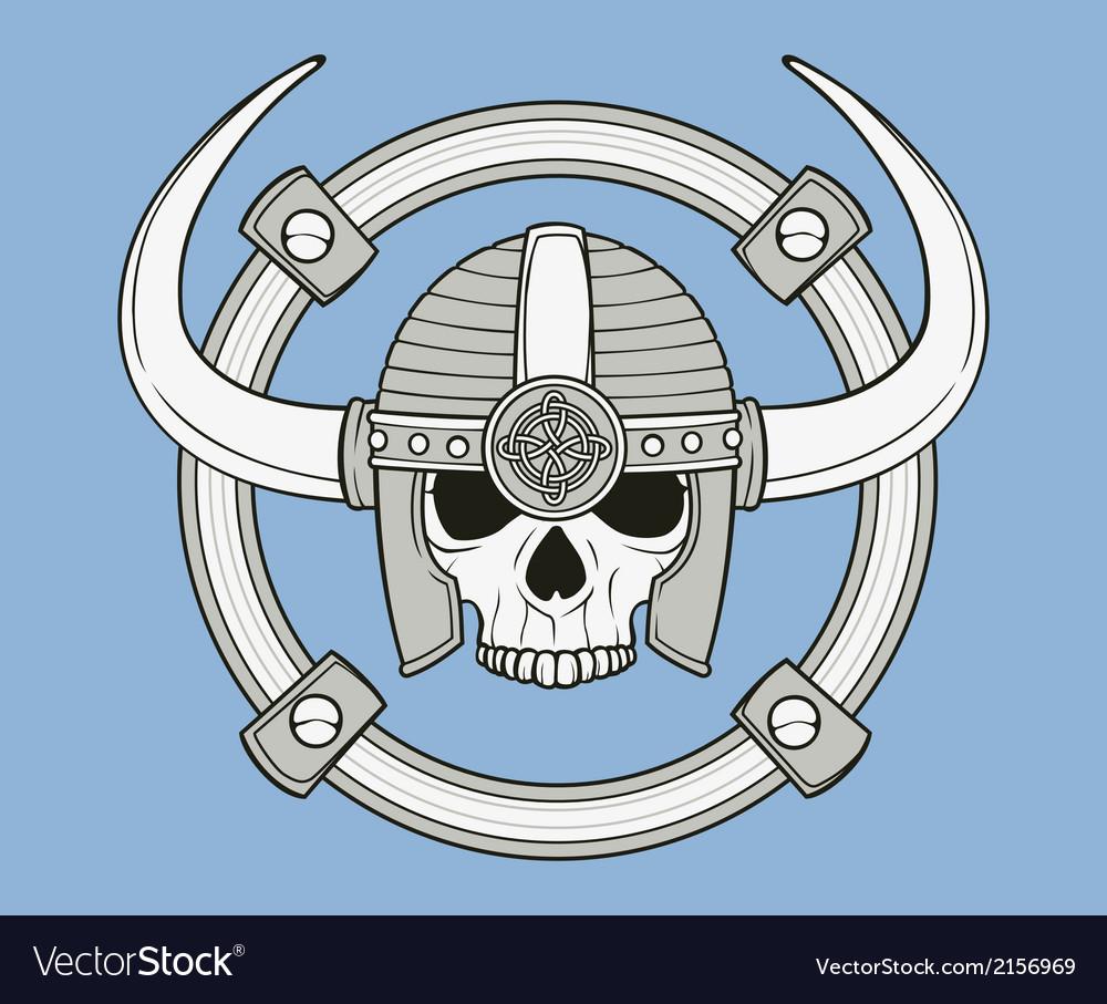 Monochrome skull vector   Price: 1 Credit (USD $1)
