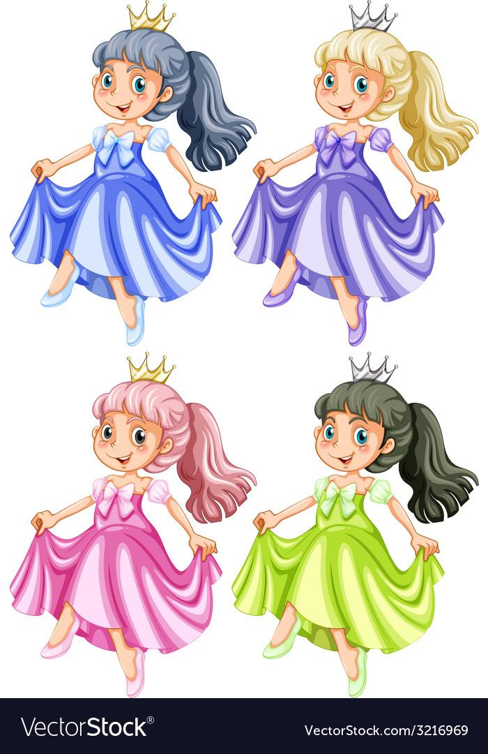 Princess vector | Price: 3 Credit (USD $3)