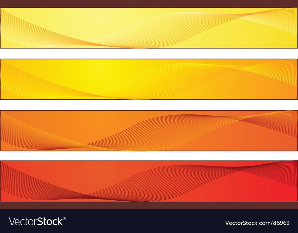 Retro banners vector | Price: 1 Credit (USD $1)