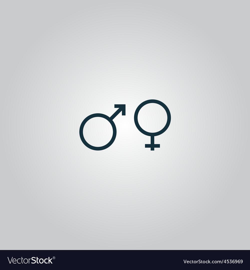 Sex symbol vector | Price: 1 Credit (USD $1)