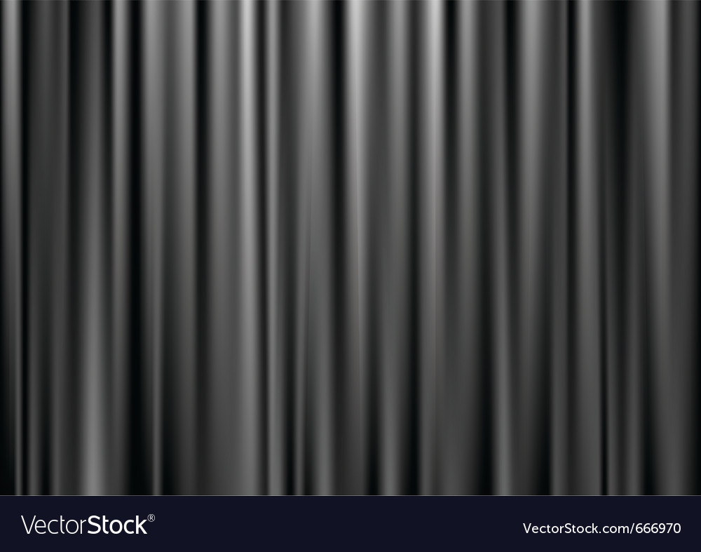 Black curtain vector | Price: 1 Credit (USD $1)
