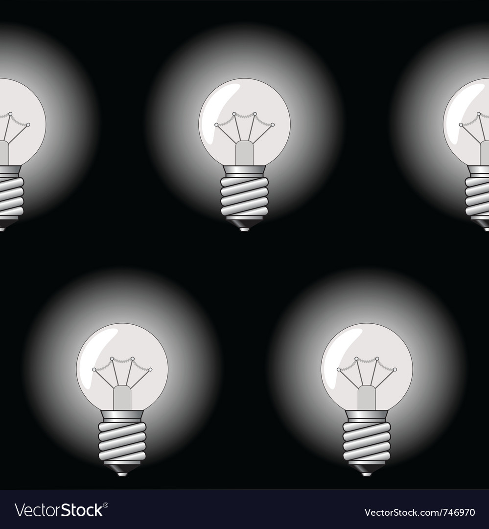 Electrical bulbs vector | Price: 1 Credit (USD $1)