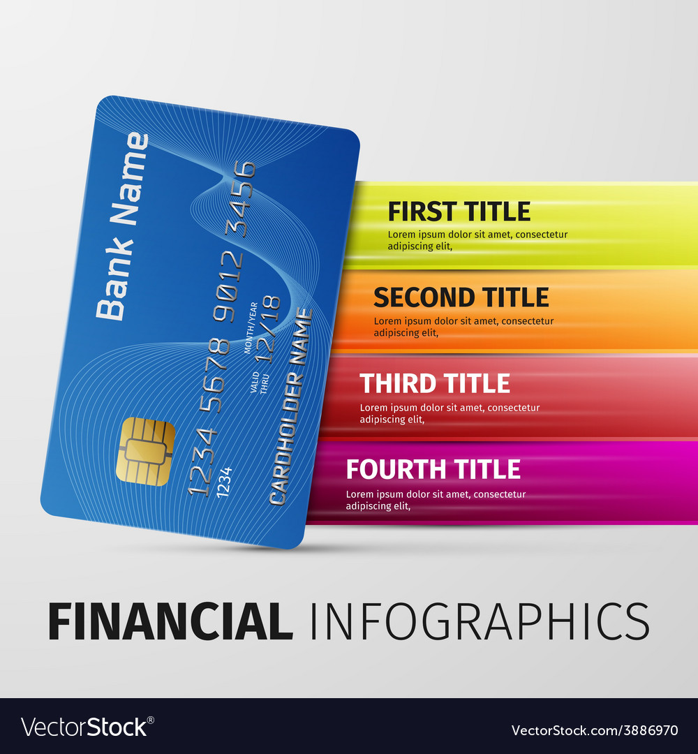 Financial infographics vector | Price: 1 Credit (USD $1)