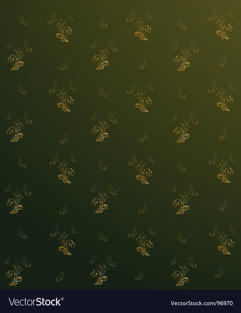 Floral print background vector | Price: 1 Credit (USD $1)