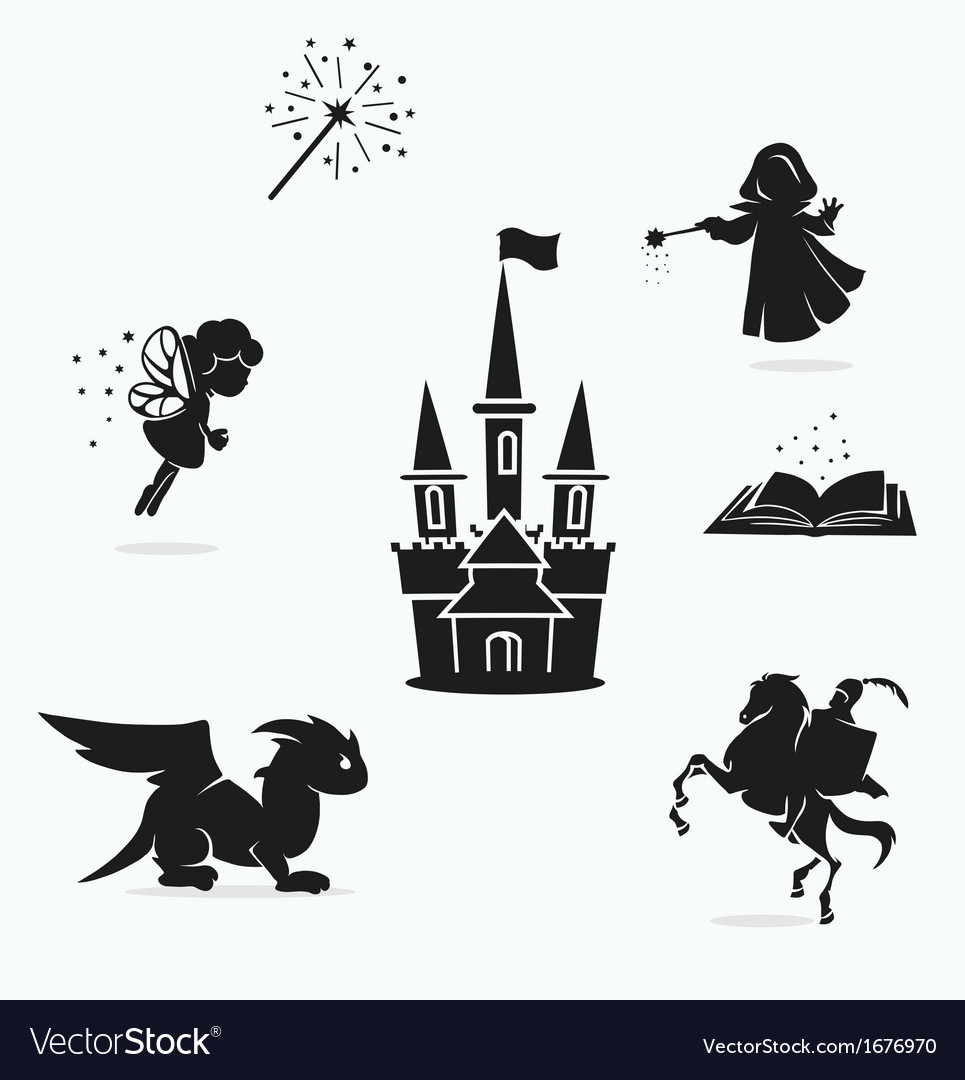 Magic set vector | Price: 1 Credit (USD $1)