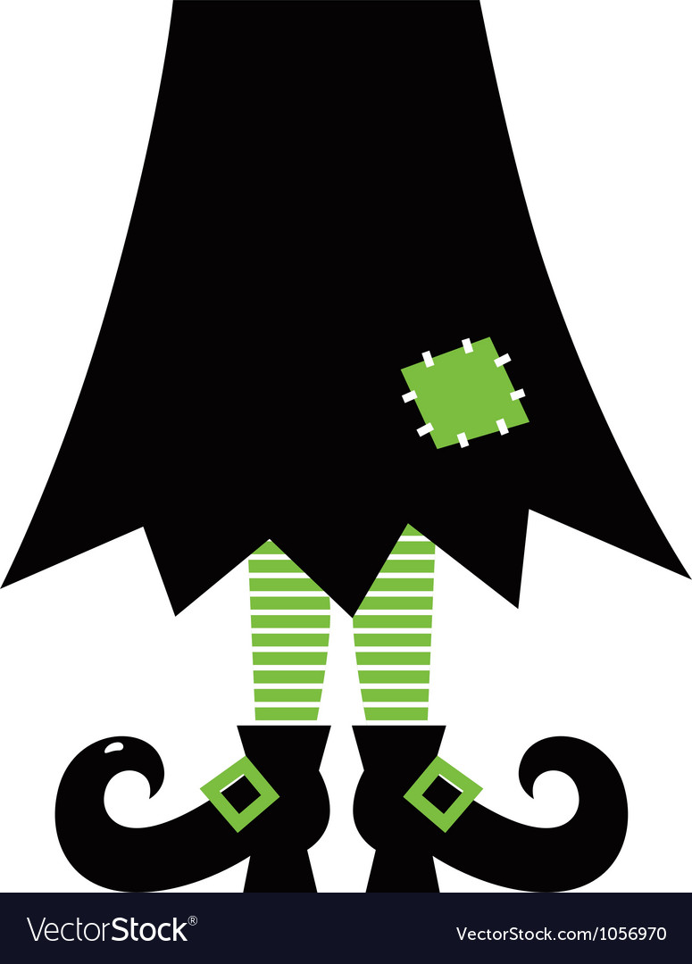 Retro halloween witch vector | Price: 1 Credit (USD $1)