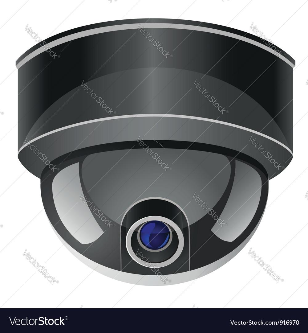 Video surveillance camera 01 vector | Price: 1 Credit (USD $1)