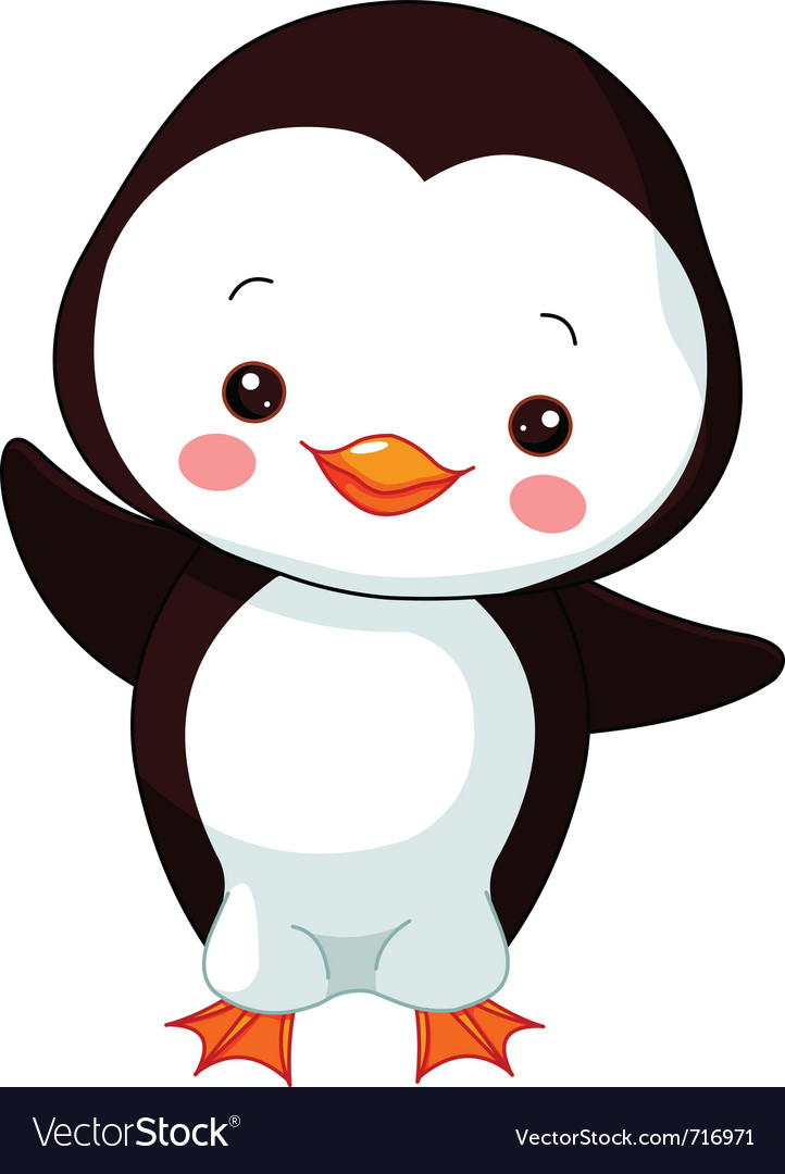 Cartoon penguin vector | Price: 1 Credit (USD $1)