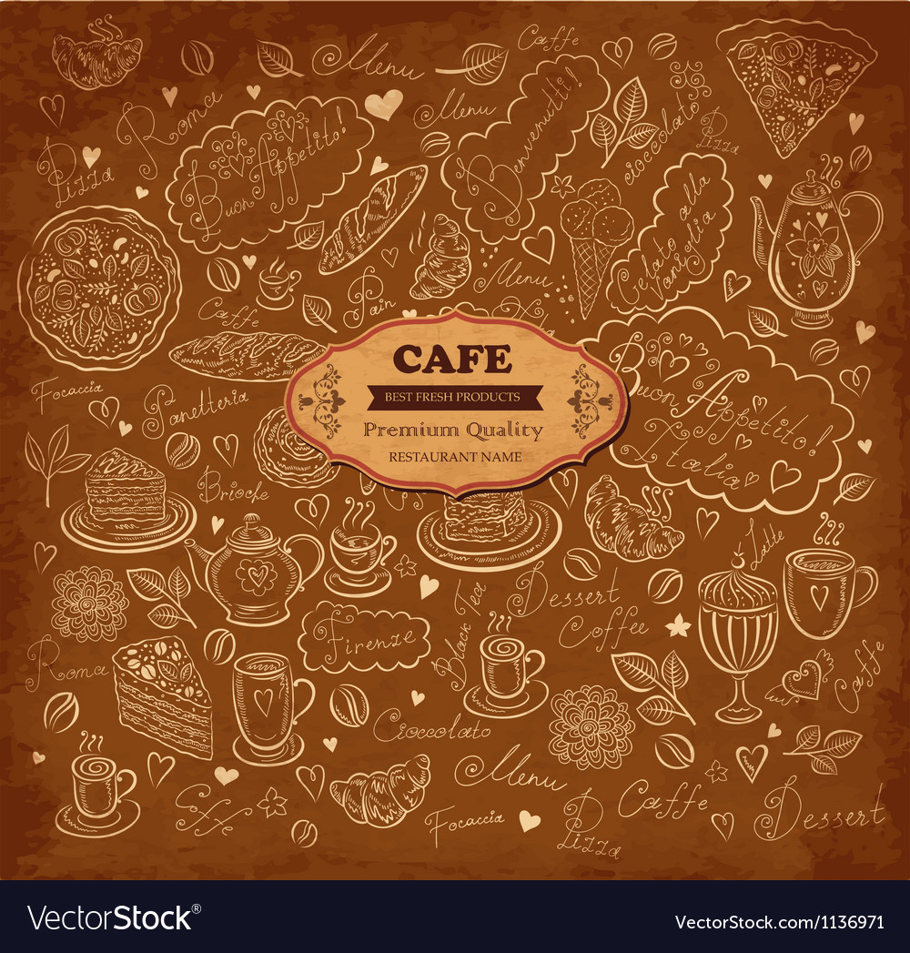 Pattern menu vector | Price: 1 Credit (USD $1)