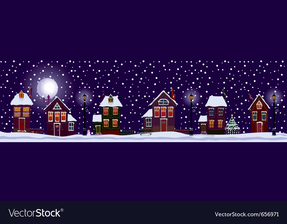 White christmas vector | Price: 1 Credit (USD $1)