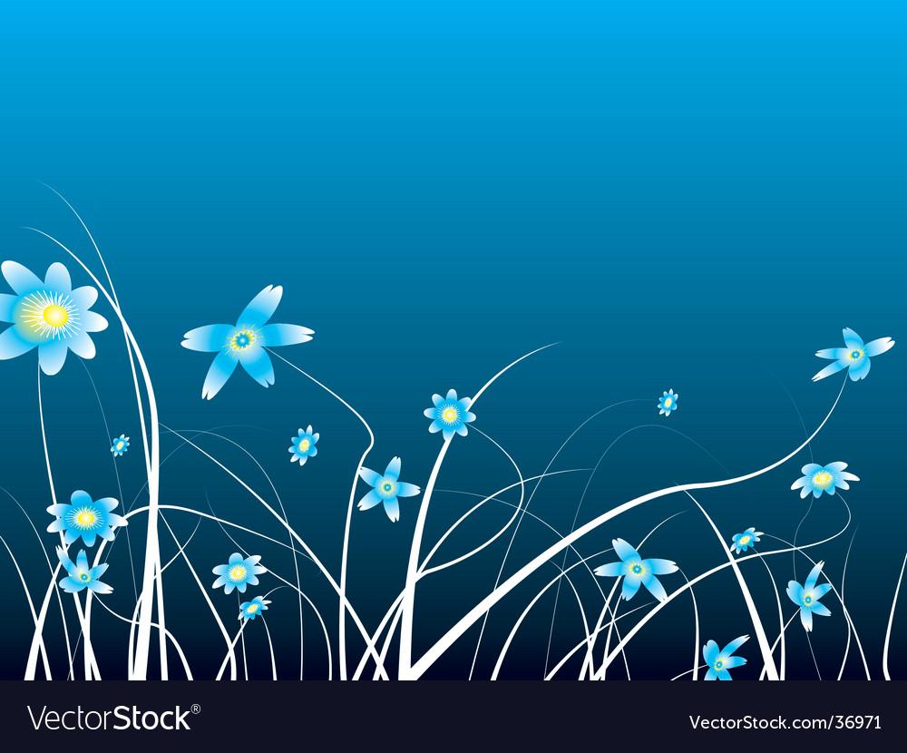 Winter flower vector | Price: 1 Credit (USD $1)