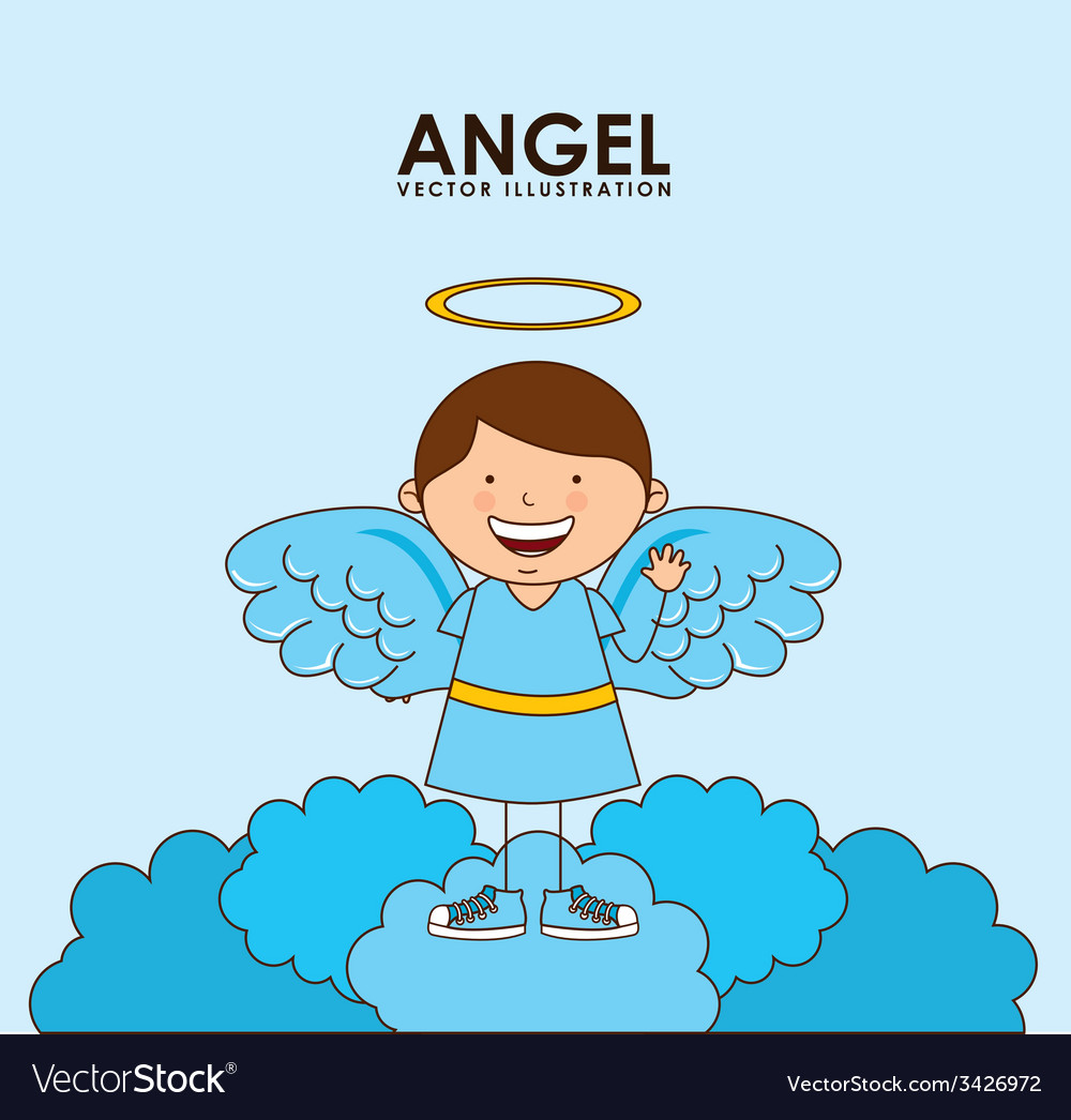 Angel design vector | Price: 1 Credit (USD $1)