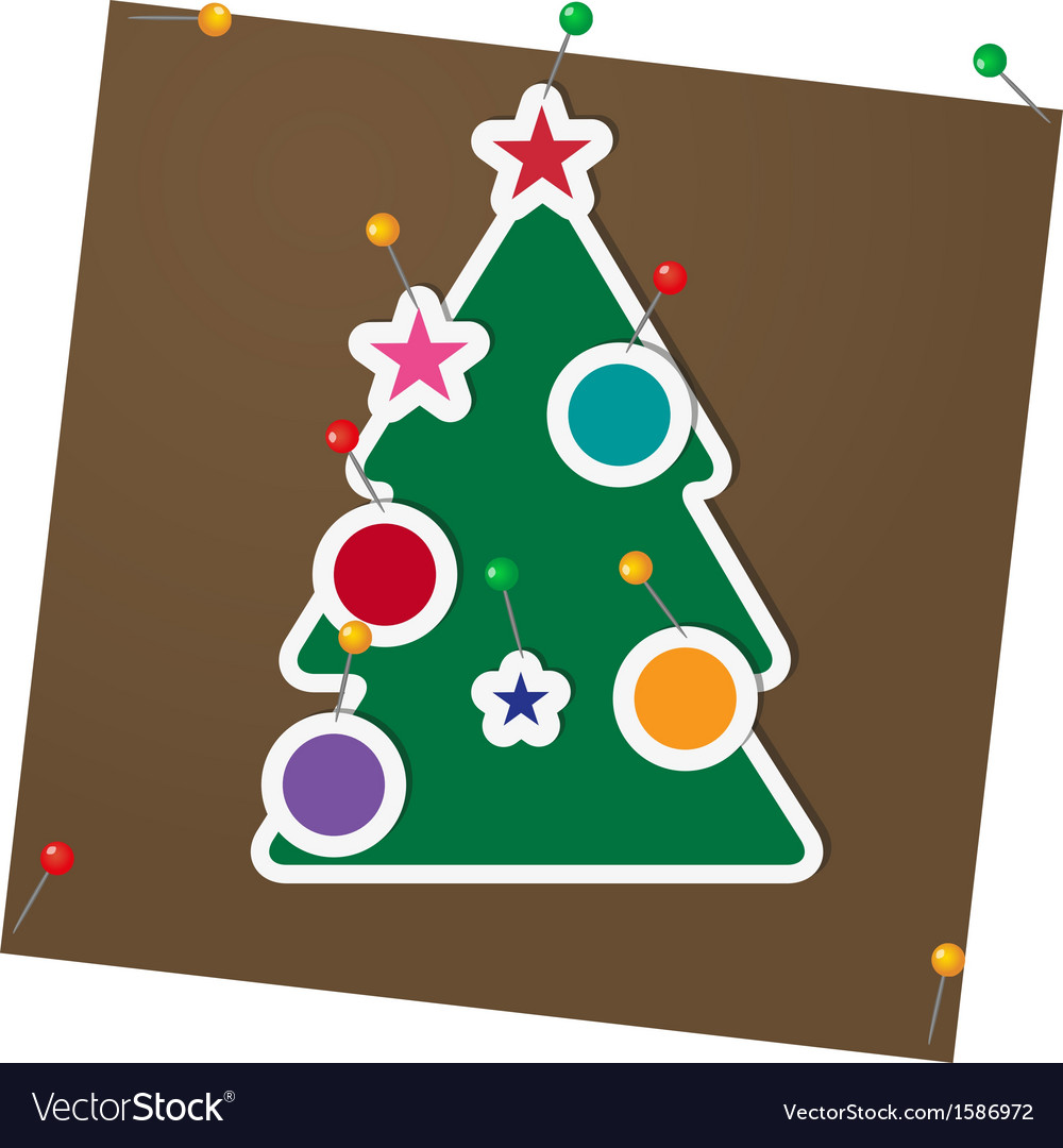 Fir tree vector | Price: 1 Credit (USD $1)