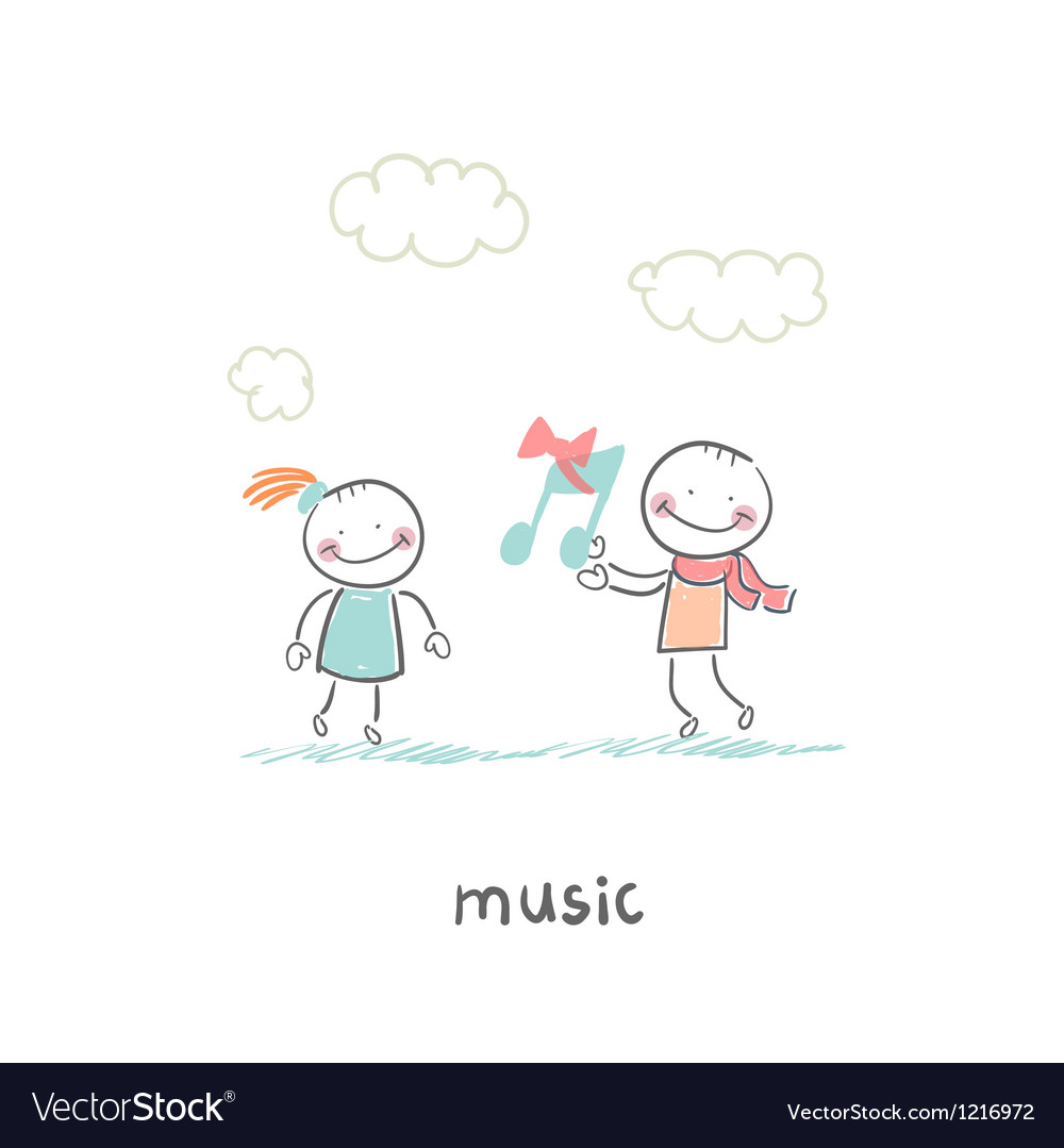 Musical gift vector | Price: 1 Credit (USD $1)