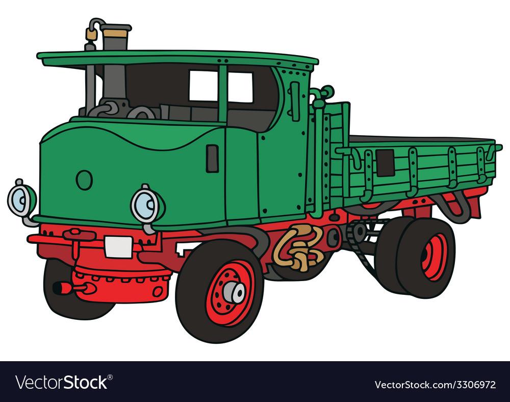 Steam truck vector | Price: 1 Credit (USD $1)