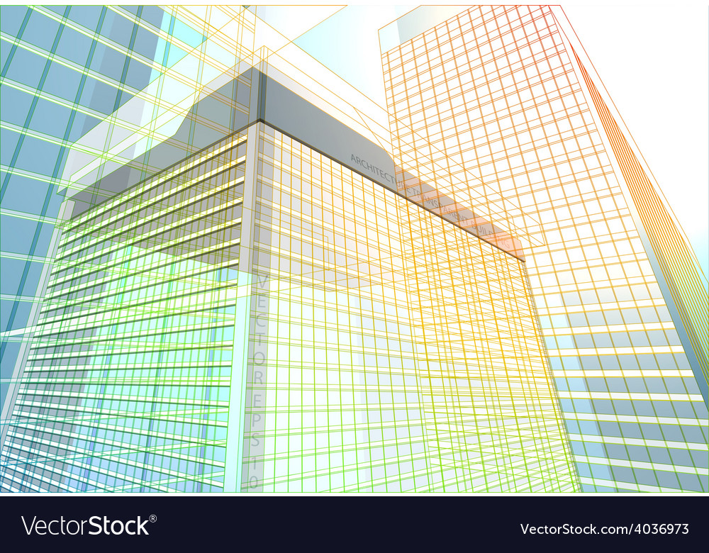 Building structure vector | Price: 1 Credit (USD $1)