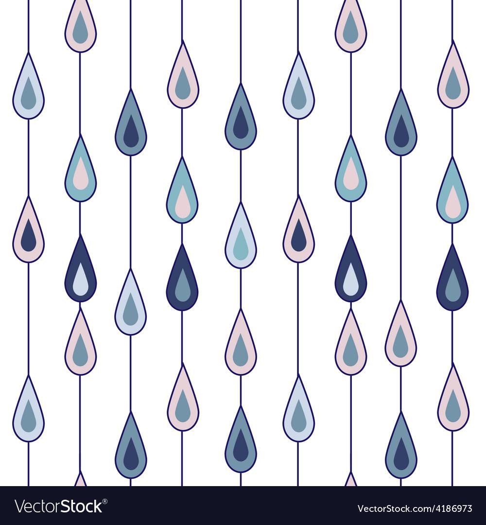Drops of rain vector | Price: 1 Credit (USD $1)