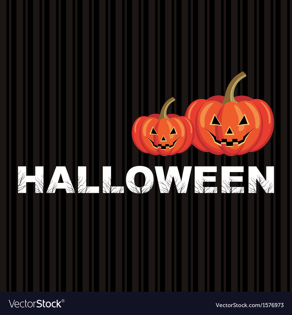 Happy halloween background vector | Price: 1 Credit (USD $1)