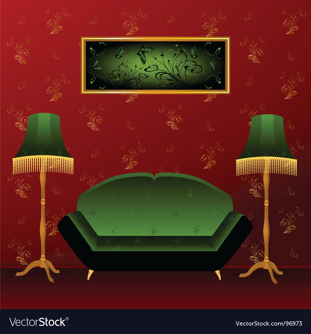 Interior design vector | Price: 1 Credit (USD $1)
