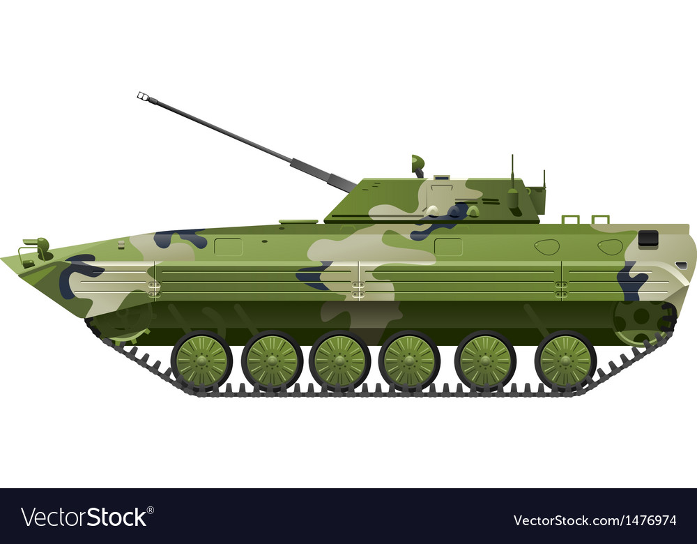 Infantry fighting vehicle vector | Price: 1 Credit (USD $1)
