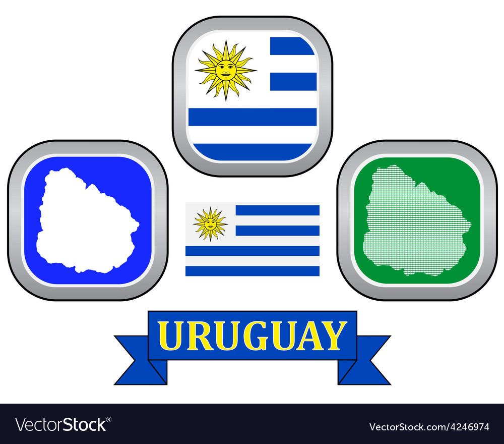 Symbol of uruguay vector   Price: 1 Credit (USD $1)