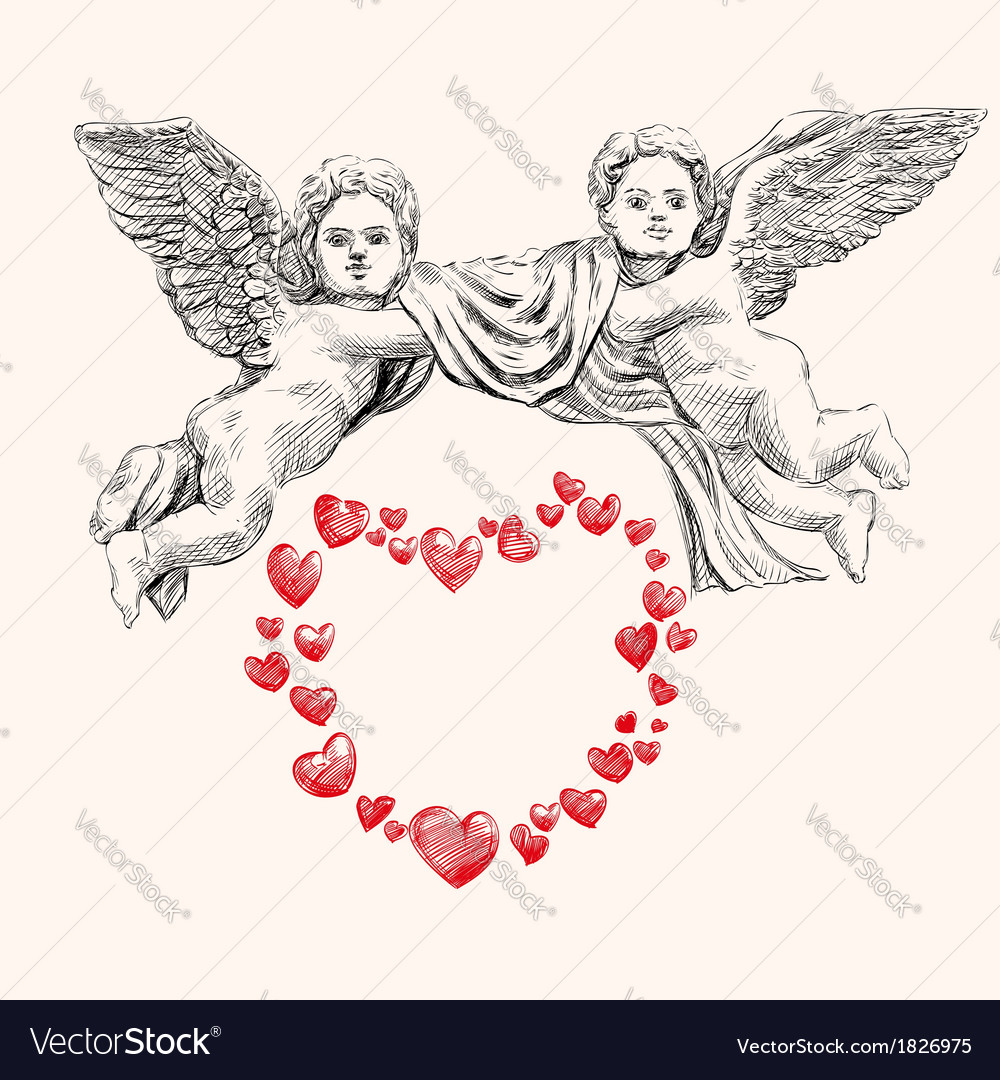 Angel or cupid llustration vector | Price: 3 Credit (USD $3)