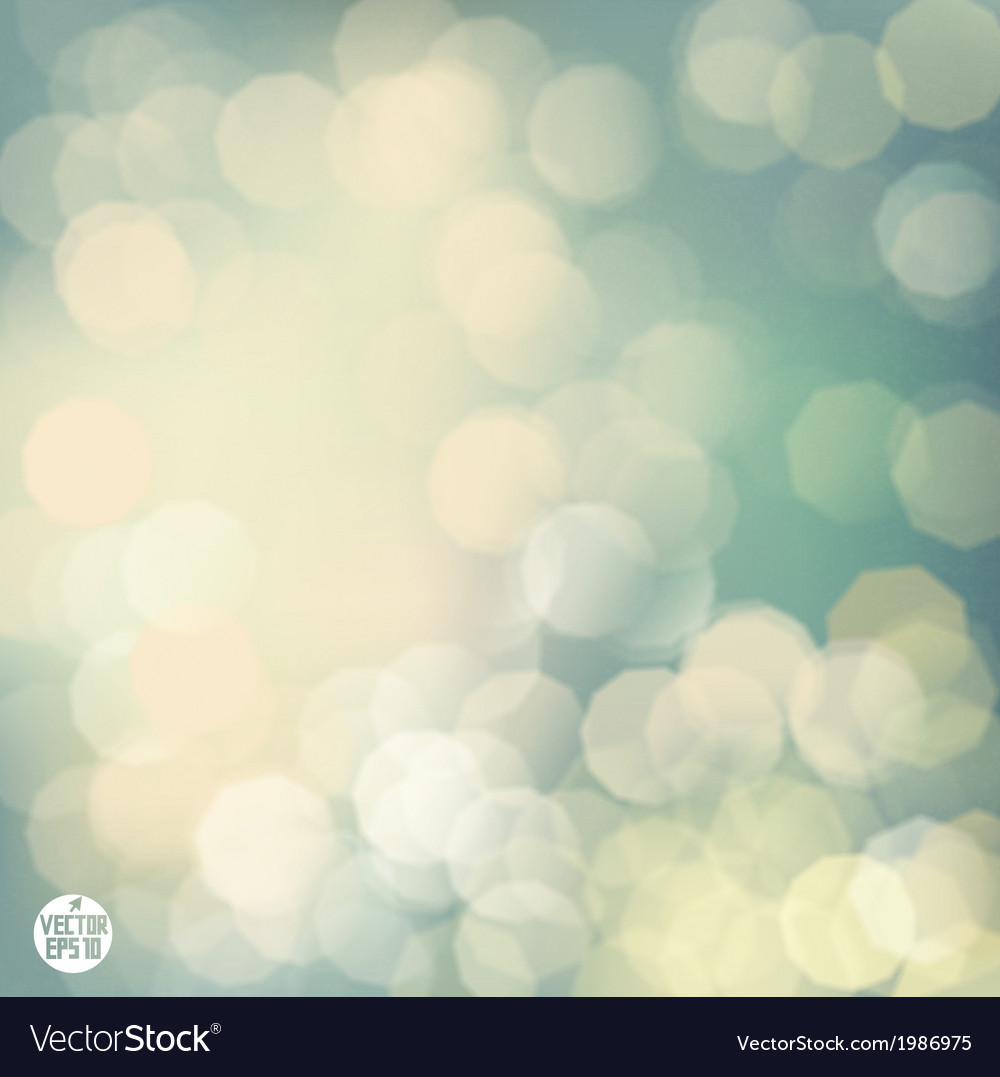 Classic bokeh background vector | Price: 1 Credit (USD $1)