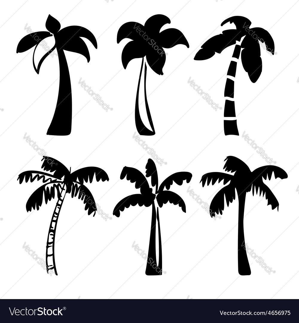Palm icon sketch collection cartoon vector   Price: 1 Credit (USD $1)