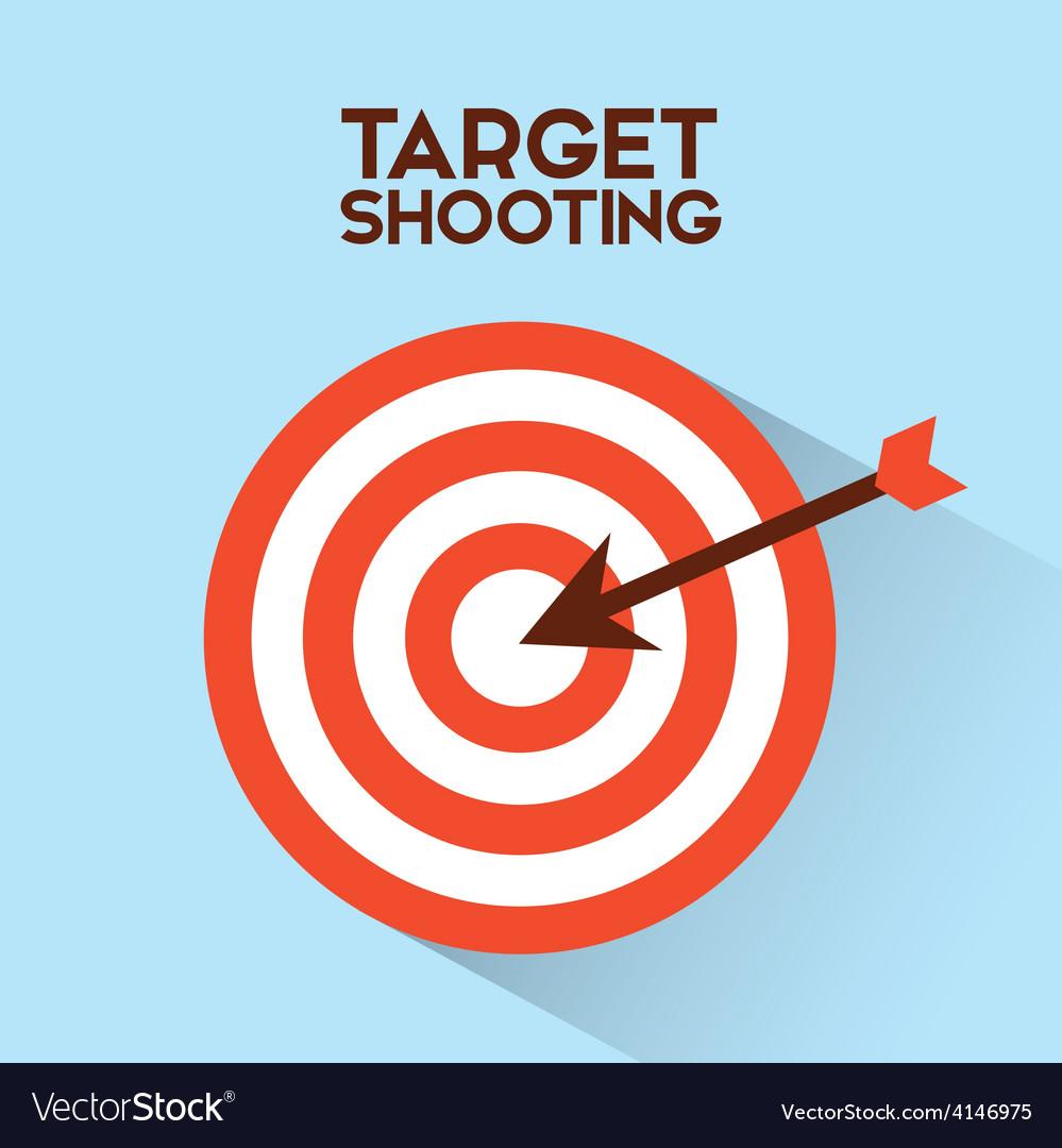 Target shooting vector | Price: 1 Credit (USD $1)