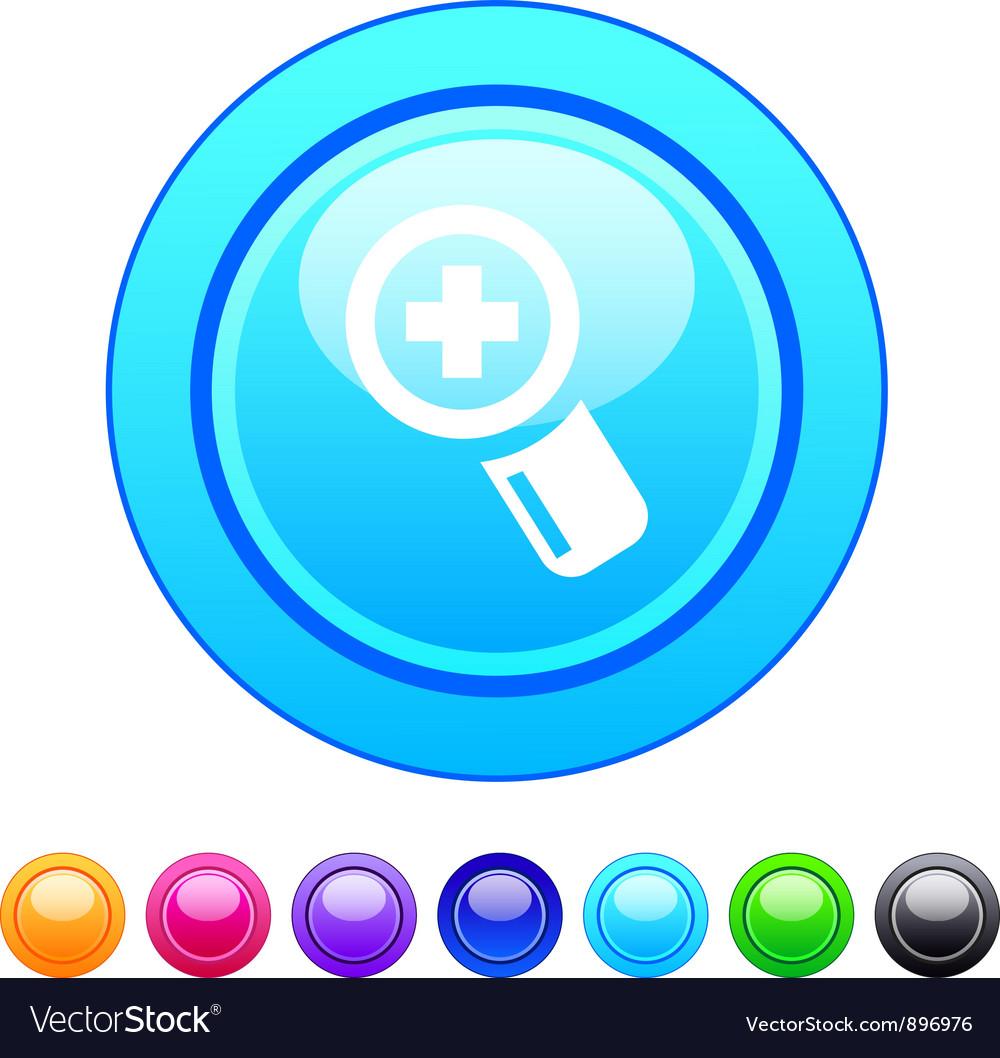 Add circle button vector | Price: 1 Credit (USD $1)