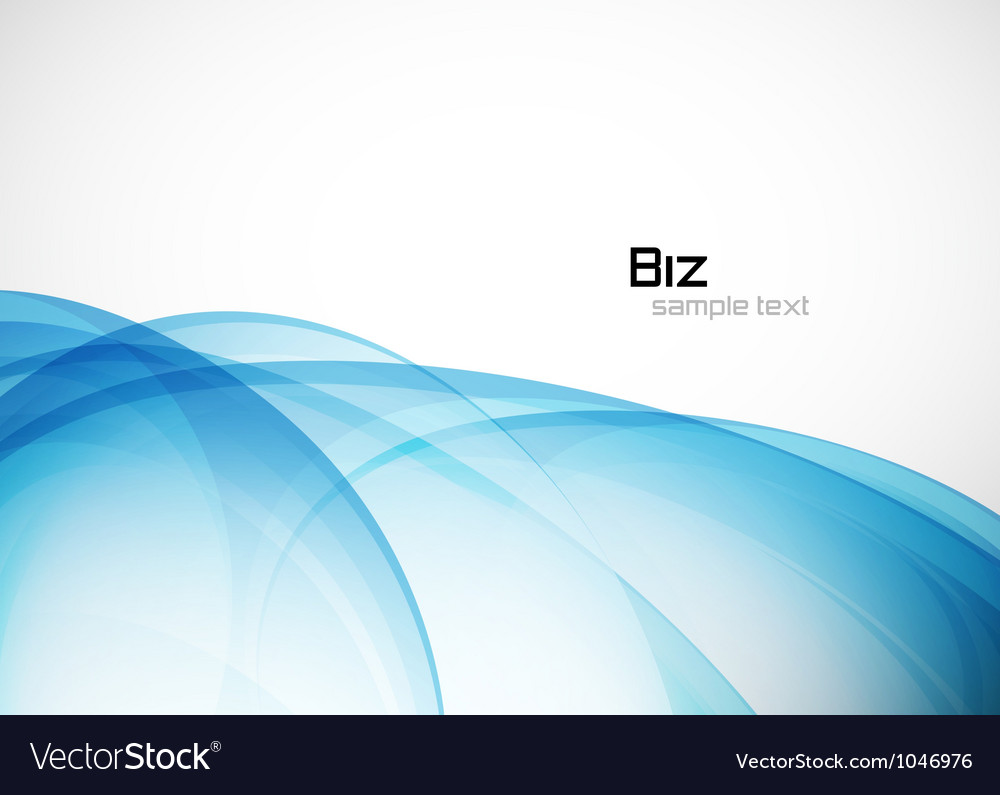 Blue business template vector | Price: 1 Credit (USD $1)