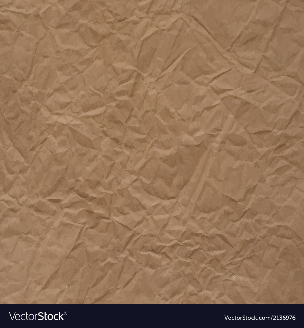 Crumpled packaging paper texture vector | Price: 1 Credit (USD $1)