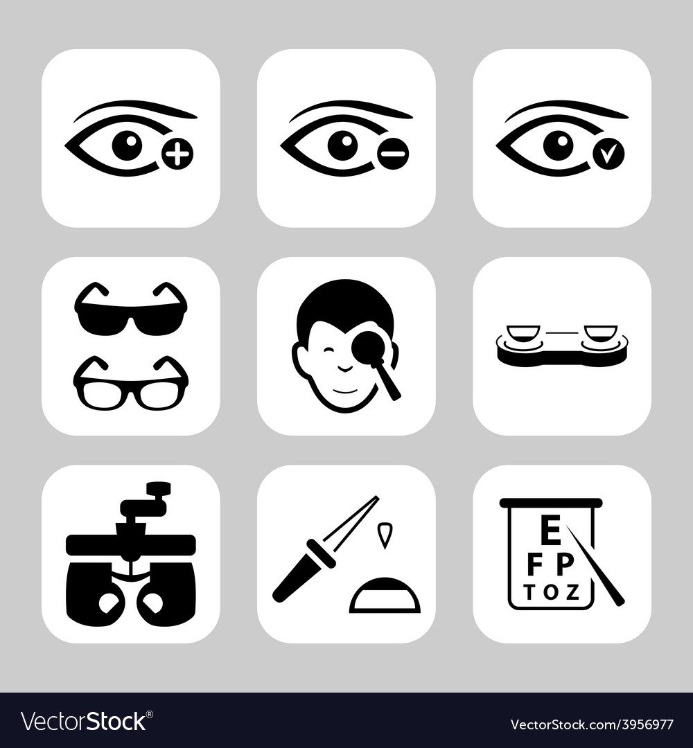 Optometry vector | Price: 1 Credit (USD $1)