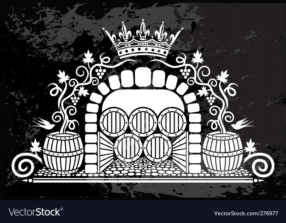 Wine logo vector | Price: 1 Credit (USD $1)