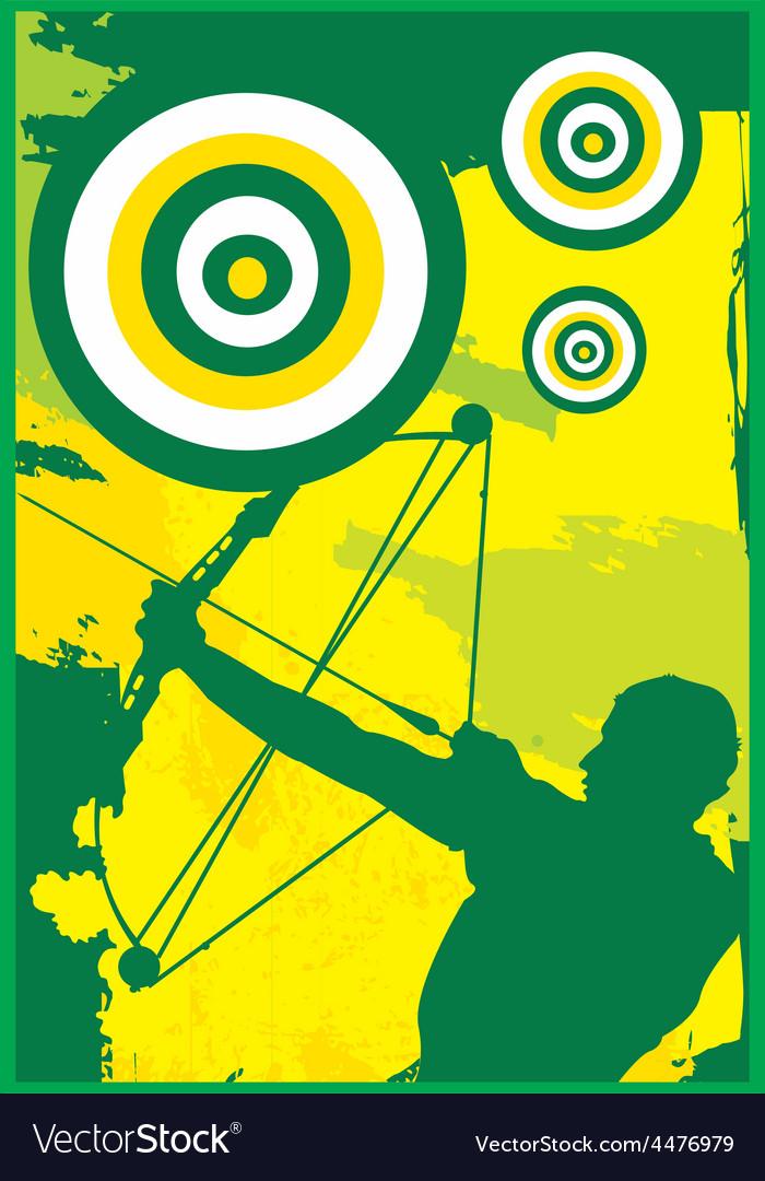 Archer design vector | Price: 1 Credit (USD $1)