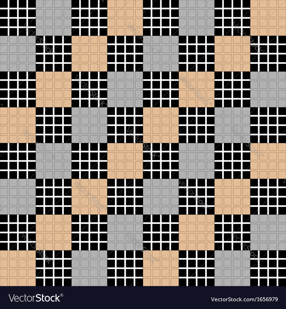 Design seamless diagonal checked pattern vector | Price: 1 Credit (USD $1)