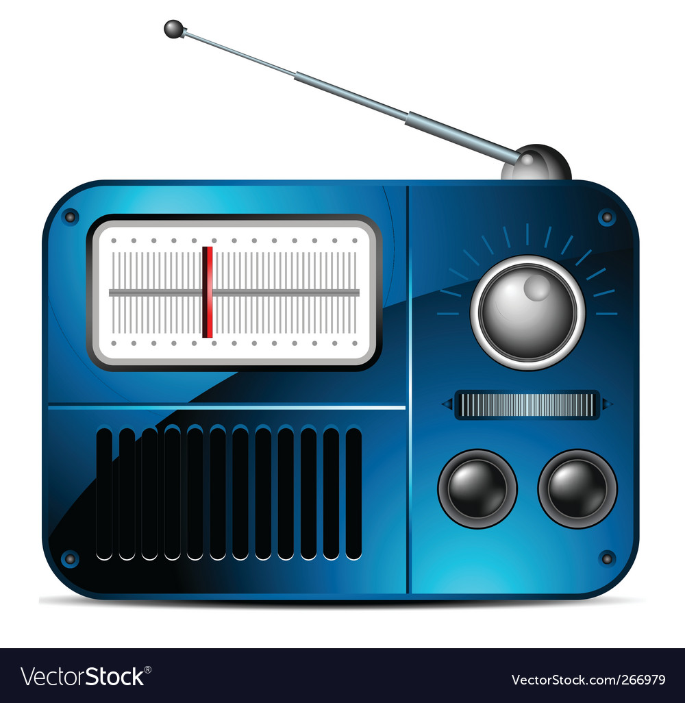 Fm radio icon vector | Price: 3 Credit (USD $3)