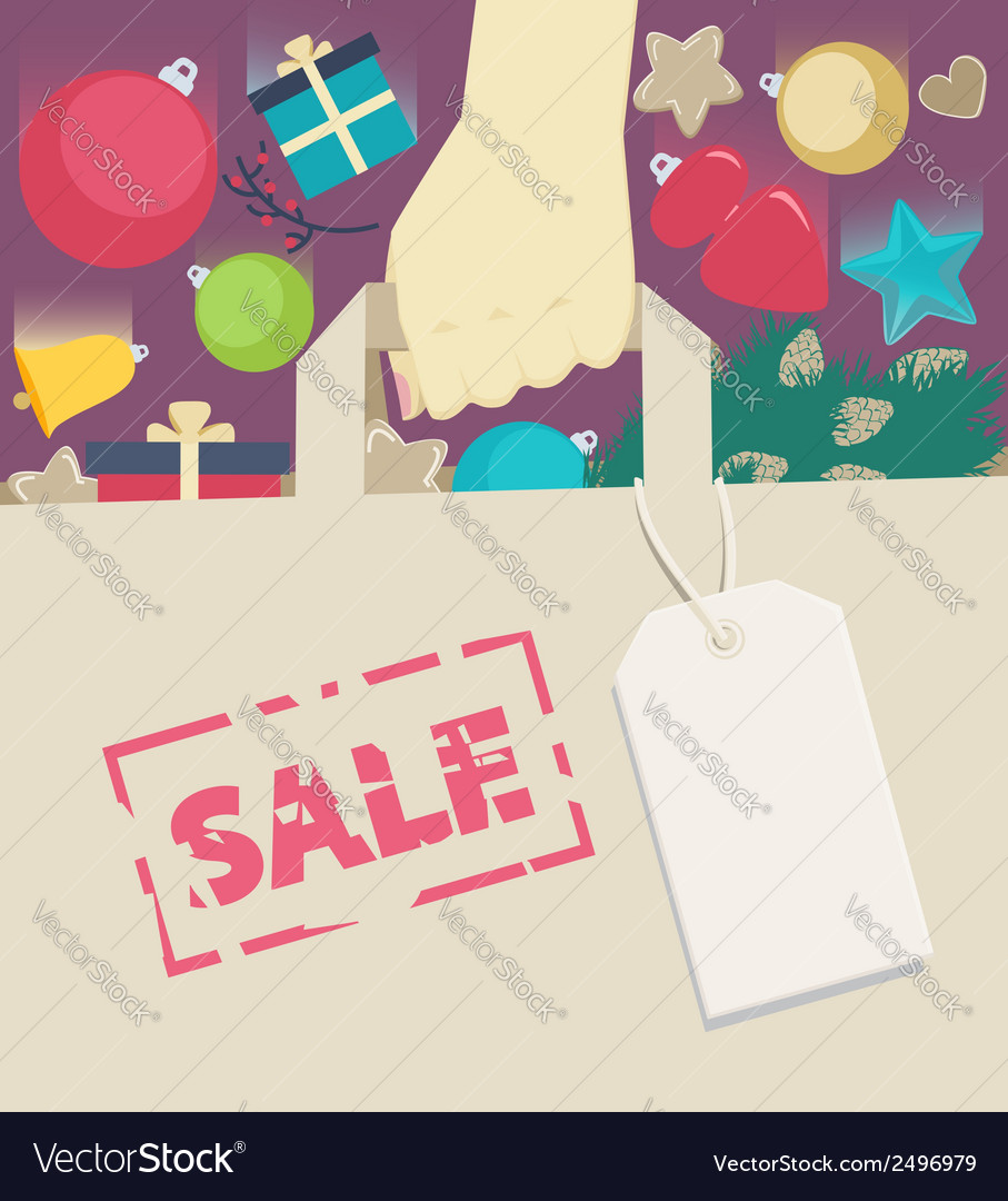 New year sale vector | Price: 1 Credit (USD $1)