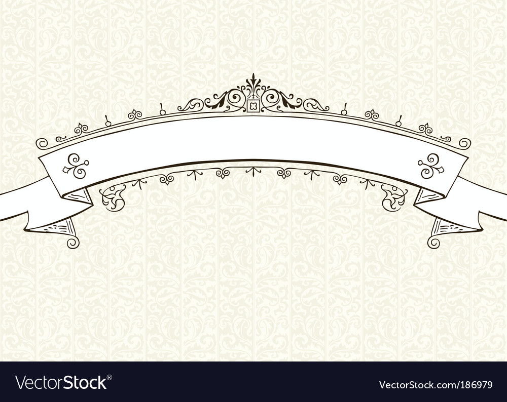 Ornate frame and pattern vector | Price: 1 Credit (USD $1)