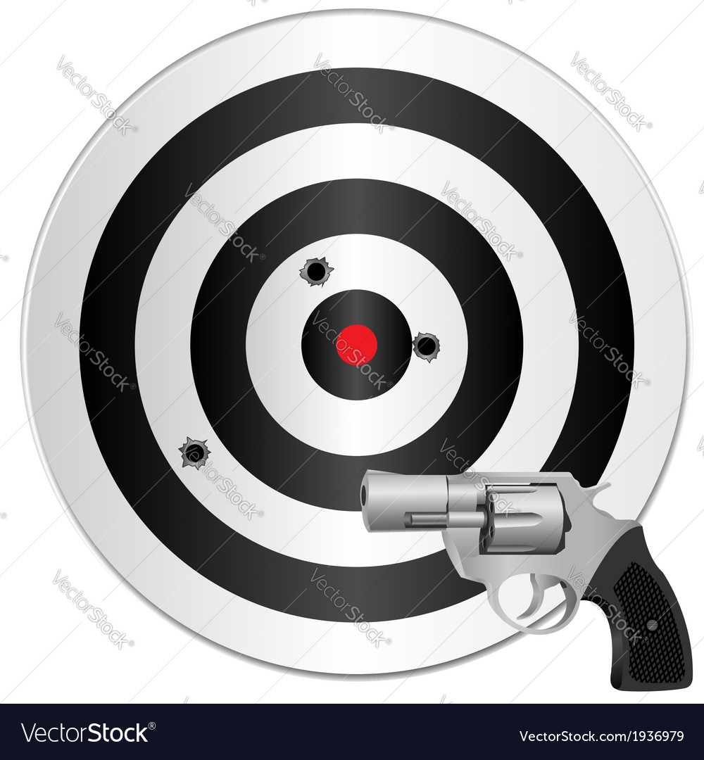 Revolver and target vector | Price: 1 Credit (USD $1)