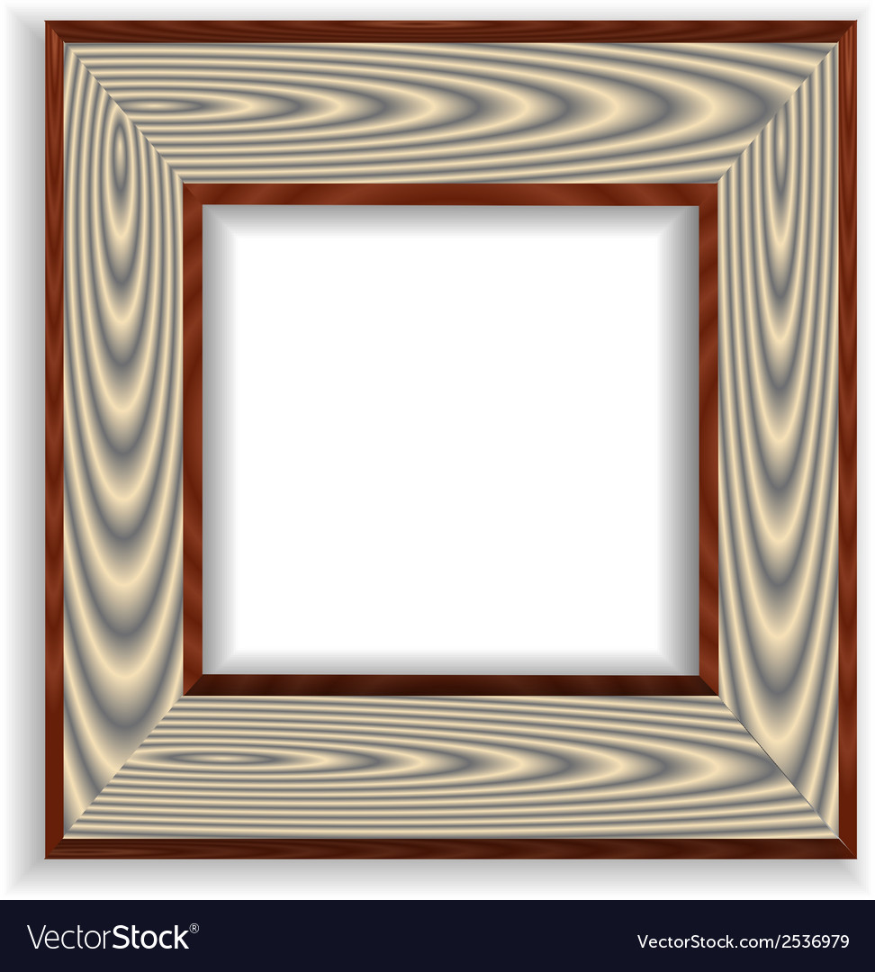 Vintage isolated blank frame vector   Price: 1 Credit (USD $1)